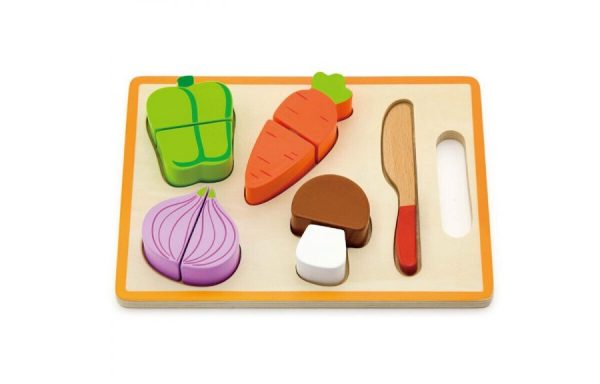 Wooden My Cutting Vegetable with Board