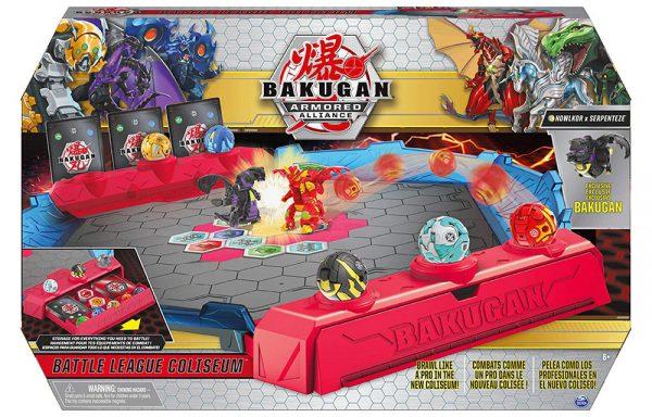 Bakugan Armored Alliance Battle League Coliseum Game Board