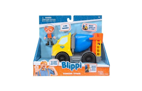 Blippi Cement Truck Toy Vehicle