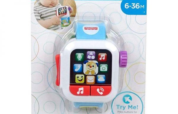 Fisher-Price Laugh and Learn Time to Learn Smartwatch