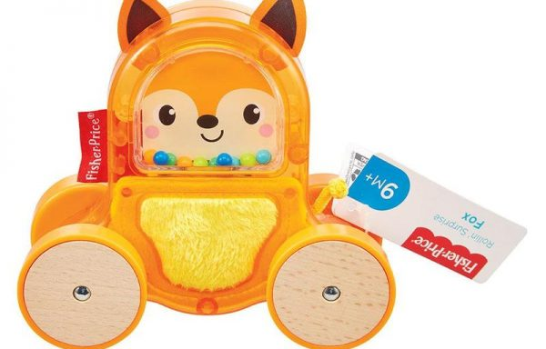 Fisher-Price Rollin Surprise Fox Toy