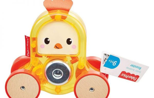 Fisher-Price Rollin Surprise Rooster Toy