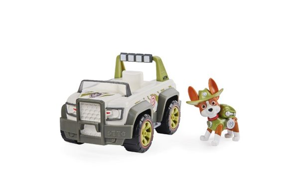 Paw Patrol Tracker Transforming Jungle Cruiser Vehicle with Pup