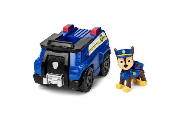 Paw Patrol Chase Transforming Patrol Cruiser Basic Vehicle with Pup