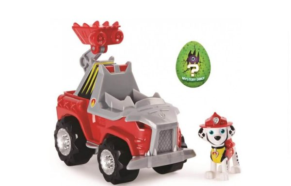 Paw Patrol Dino Rescue Marshall Deluxe Vehicle