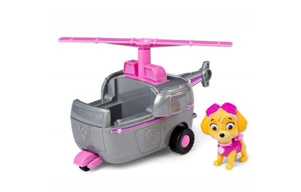 Paw Patrol Skye Transforming Helicopter Basic Vehicle with Pup
