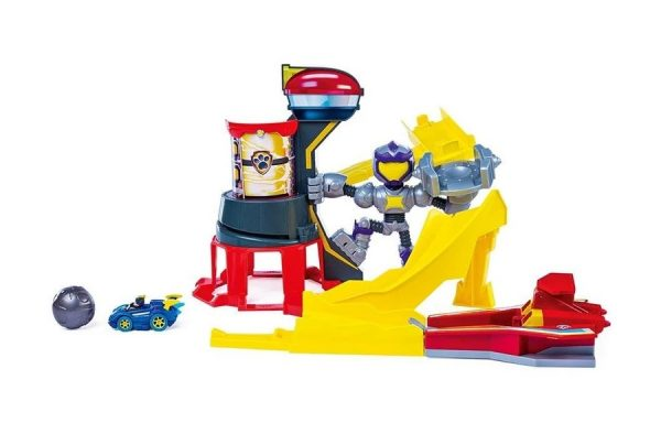 Paw Patrol Mighty Pups Charged Up Mighty Meteor Track Set