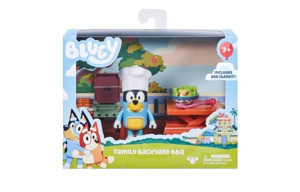 Bluey Dad's Backyard BBQ Mini Playset