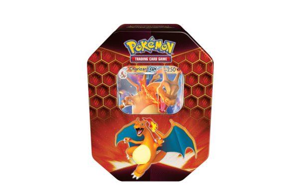 Pokemon TCG Hidden Fates Charizard-GX Tin