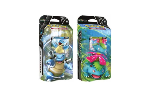 PRE-ORDER Pokemon TCG: Venusaur V & Blastoise V Battle Deck