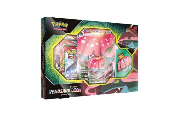 PRE-ORDER Pokemon TCG Venusaur VMAX Battle Box