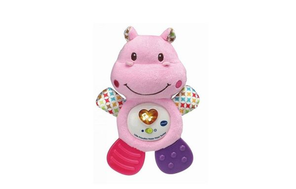 VTech Little Friendlies Happy Hippo Teether in Pink