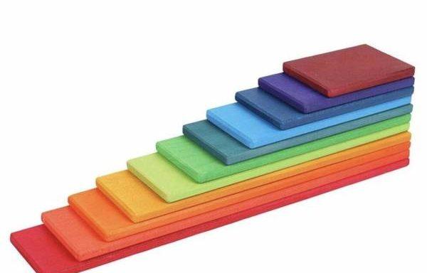 PRE-ORDER Rainbow – Wooden Planks