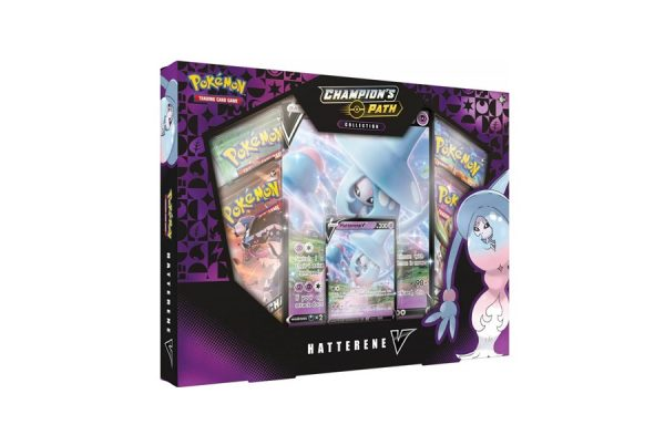 Pokémon TCG Champion's Path Collection: Hatterene V Box