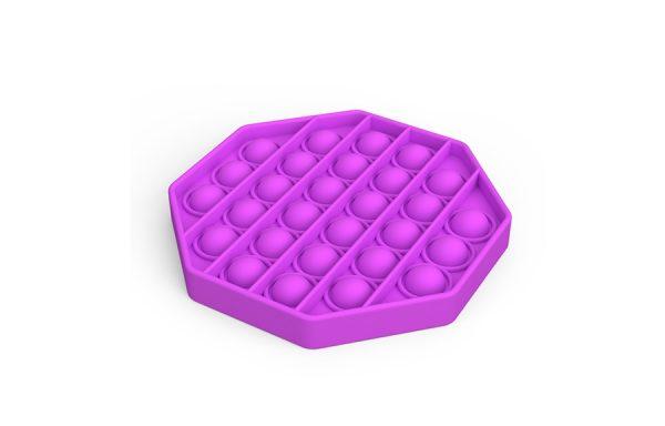 Bubble Pop It Purple Octagon