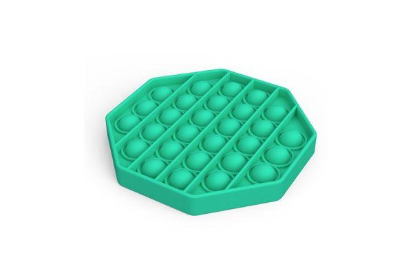 Bubble Pop It Green Octagon