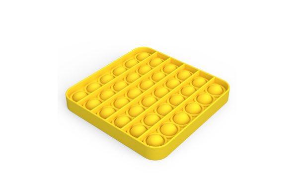 Bubble Pop It Yellow Square