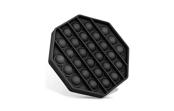 Bubble Pop It Black Octagon