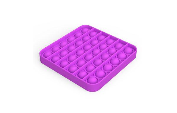 Bubble Pop It Purple Square