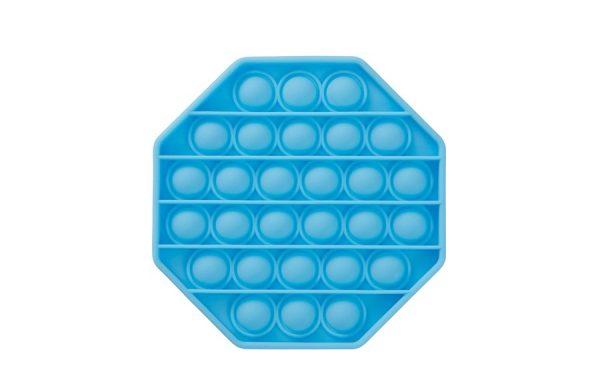 Bubble Pop It Blue Octagon