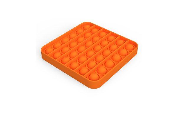 Bubble Pop It Orange Square