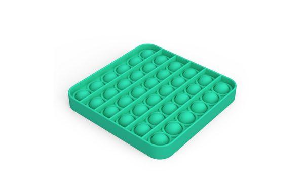 Bubble Pop It Green Square