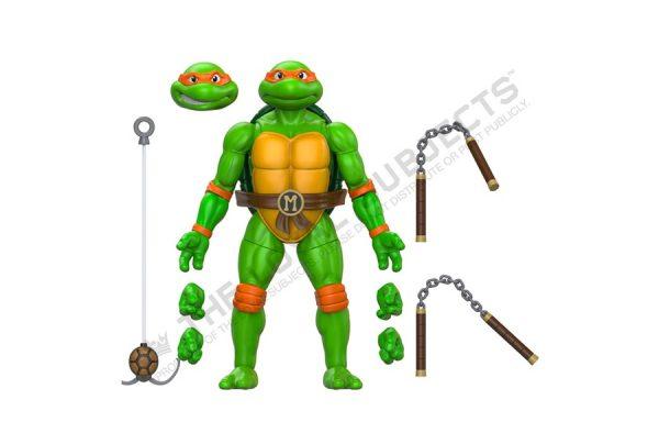 PRE-ORDER Teenage Mutant Ninja Turtles- Michelangelo 5″ Action Figure