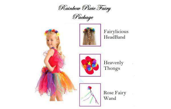 Medium Rainbow Pixie Fairy Package