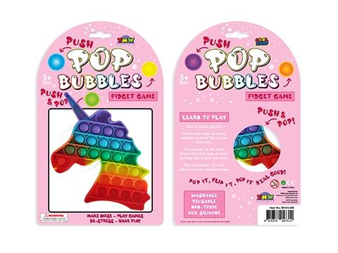 Bubble Pop It Rainbow Unicorn