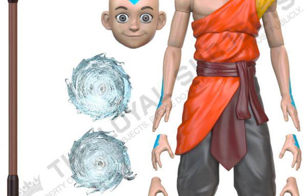PRE-ORDER AVATAR: THE LAST AIRBENDER Aang Monk BST AXN 5″ Action Figure