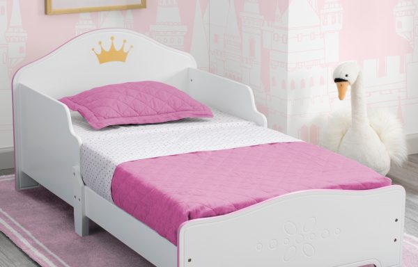 Princess Crown Toddler Bed