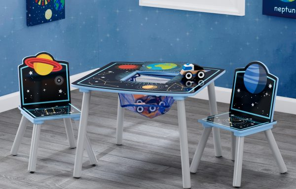 Space Adventures Storage Table and Chair Set