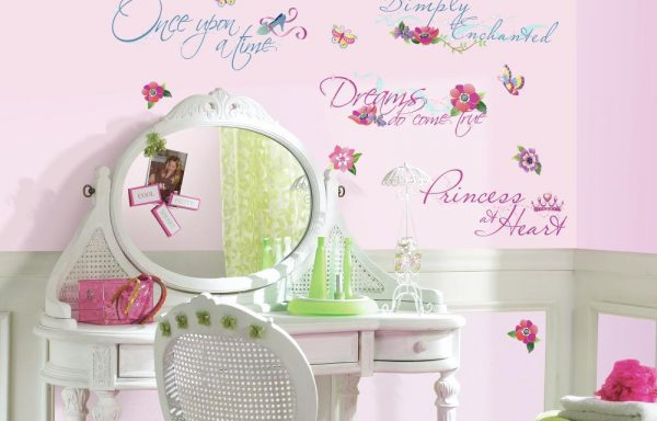 Disney Princess Quotes Peel & Stick Wall Decals