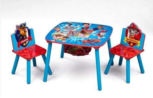 Paw Patrol Storage Table and Chair Set