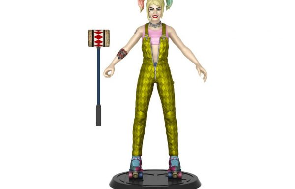 PRE-ORDER DC COMIC – Bendy Figure- Film Harley (BOP)