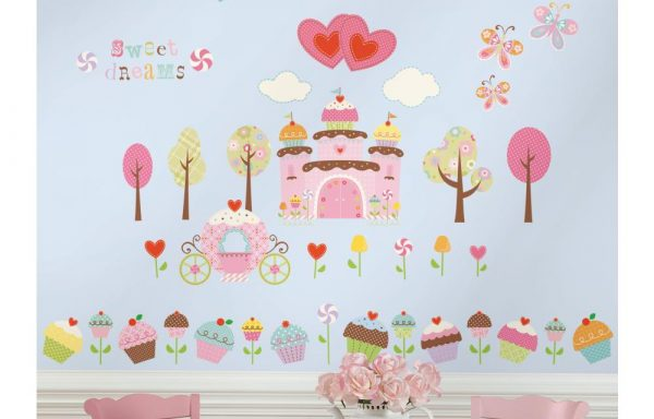 Happi Cupcake Land Stickers