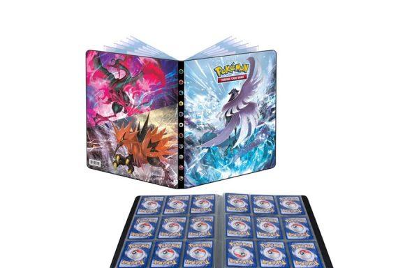 PRE-ORDER ULTRA PRO Pokémon Portfolio 9PKT Sword and Shield 6 Chilling Reign