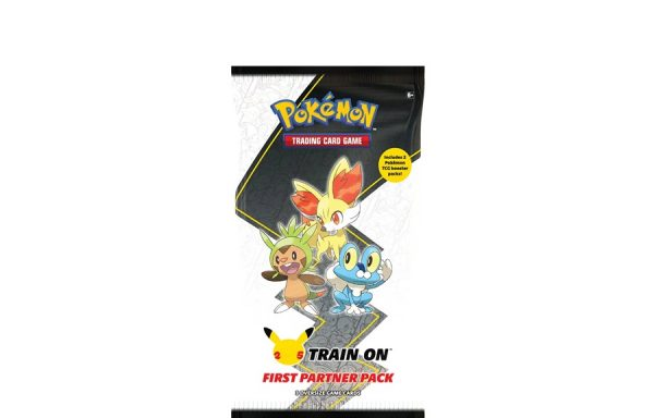 PRE-ORDER Pokemon TCG 25th Anniversary First Partner Pack – Kalos