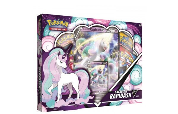 PRE-ORDER Pokémon TCG: Galarian Rapidash V Box