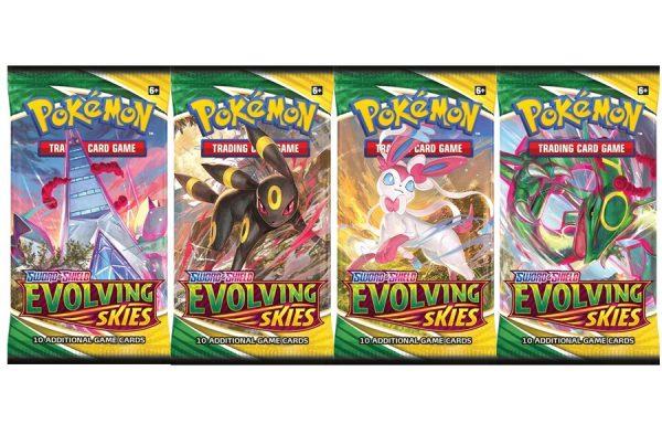 PRE-ORDER Pokemon  TCG Sword and Shield Evolving Skies Booster Pack