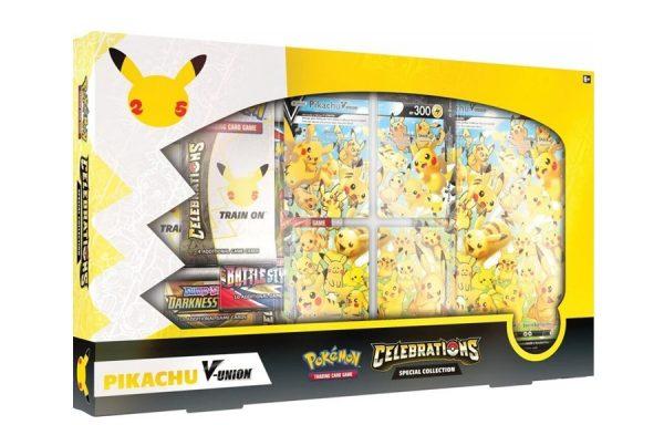 PRE-ORDER POKÉMON TCG Celebrations Special Collection Pikachu V-Union