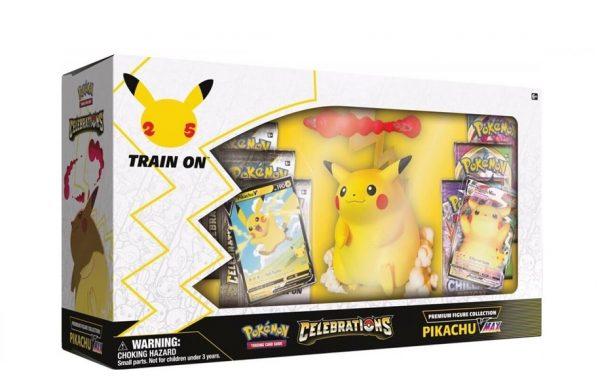 PRE-ORDER POKÉMON TCG Premium Figure Collection Celebrations Pikachu Vmax