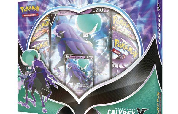 PRE-ORDER Pokemon TCG Shadow Rider Calyrex V Box
