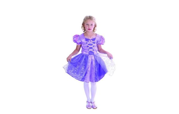 Medium Deluxe Purple Princess Costume