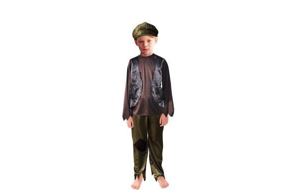 Medium Oliver Twist Victorian Poor Boy Street Child Costume