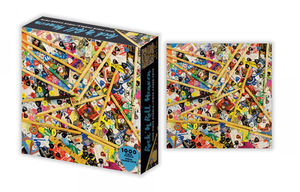 Road Crates Rock N Roll Heaven 1000 Piece Jigsaw Puzzle