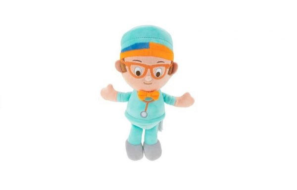 Blippi Little Feature Doctor Blippi Plush with Sounds