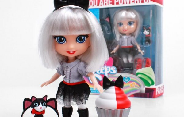 PREORDER – FOR KEEPS™ 5″ Aspirational Fashion Dolls With Accessories – Paris