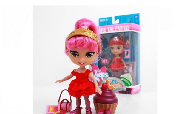 PREORDER – FOR KEEPS™ 5″ Aspirational Fashion Dolls With Accessories – Sophia
