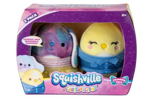 PREORDER – SQUISHMALLOWS SQUISHVILLE – Ryder & Chuck Mini Plush (Squishville Mini Squishmallow 2 Pack)(Asst)